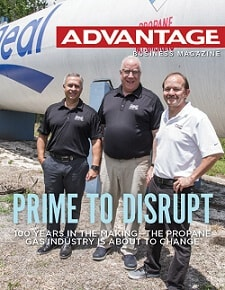 Advantage Business Magazine Cover