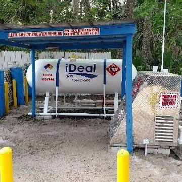 propane dispenser